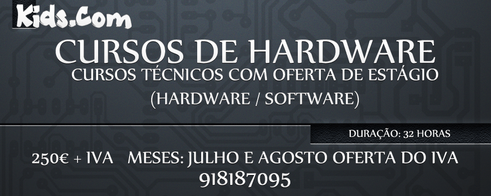 Cursos Hardware software Odivelas